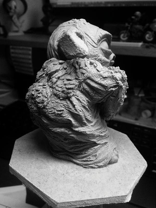 Sculpture de Yoda YoDark_61
