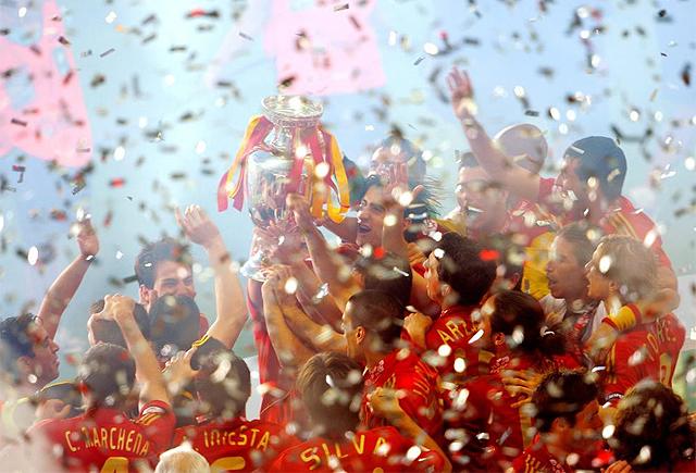 ESPAÑA CAMPEONA DEL MUNDO!!! Campeones
