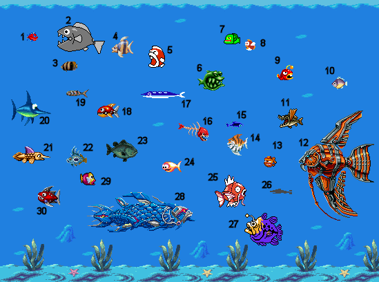 [jeu] Fishy fishy fish - Page 2 Poissons