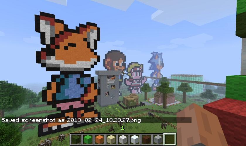 Encore un nouveau ! Minecraft1