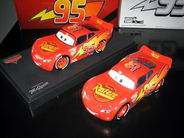 MattyCollector - Lightning McQueen 1:24 IMG_5582