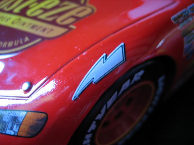 MattyCollector - Lightning McQueen 1:24 IMG_5603
