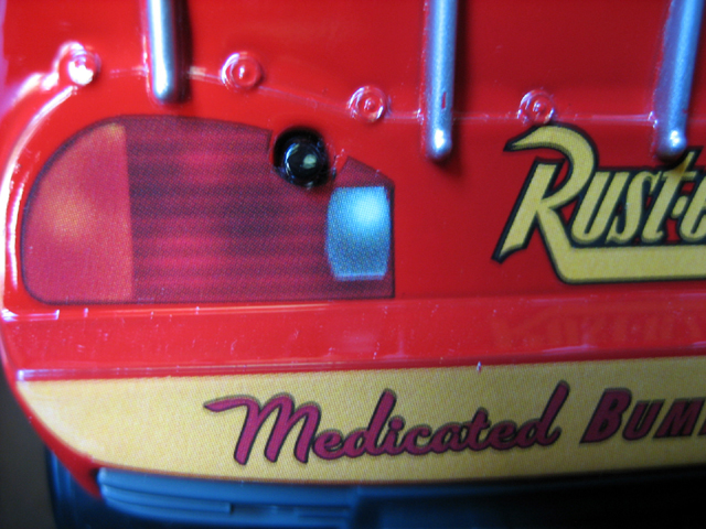 MattyCollector - Lightning McQueen 1:24 IMG_5613