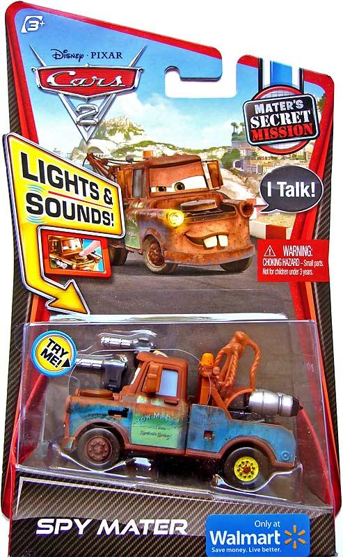 [Cars 2] Spy Mater Spymatlightup