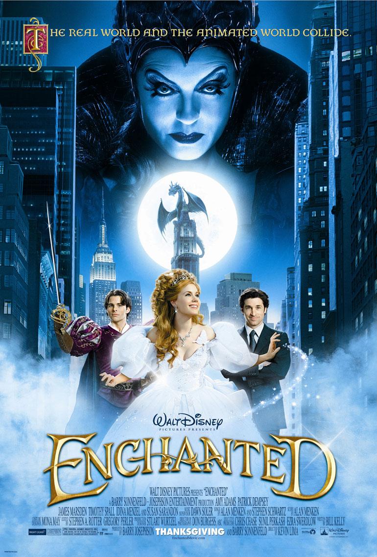 Il Était Une Fois [Disney - 2007] - Page 4 Officialposterenchanted