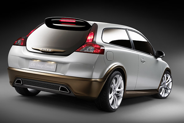 Volvo (official topic) C30-concept-rear