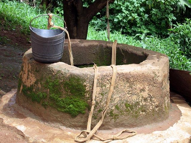 Bunari Well-w-bucket