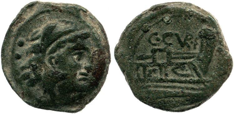Monnaie de la république romaine à identifier Cr240-4b