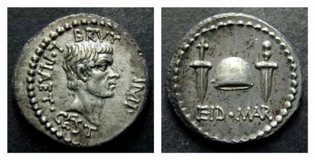 Denier Brutus Ides de Mars  Cr508-3_350000chf