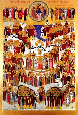 Русь святая, храни веру Православную!  В ней же тебе утверждение! Единство! Ib3471