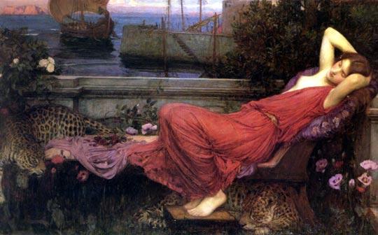 Il paganesimo nell'arte Waterhouse_ariadne