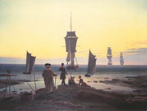 Caspar David Friedrich, (1774-1840) Stagesoflife-caspar-david-friedrich