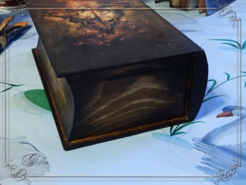 Эффект «свечения» в декупаже на деревянных заготовках 139225