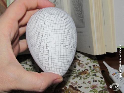 Соловьиная песня или имитация филейной вышивки в декупажных работах на выпуклых поверхностях. 172466
