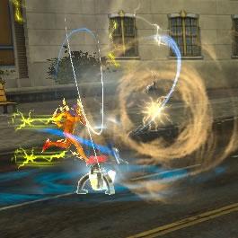 La tempête de Speedforce (speedster only) Disturbance