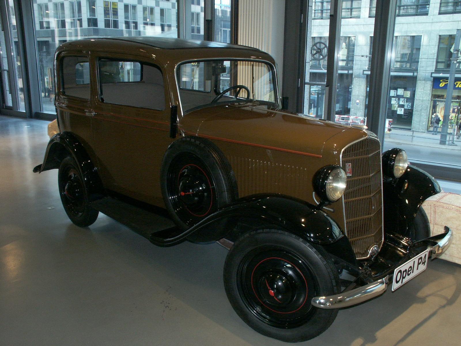 Los principios de Opel y sus modelos OpelP4
