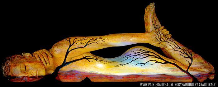 Необыкновенный боди-арт - Страница 2 Impressive_body_painting_61