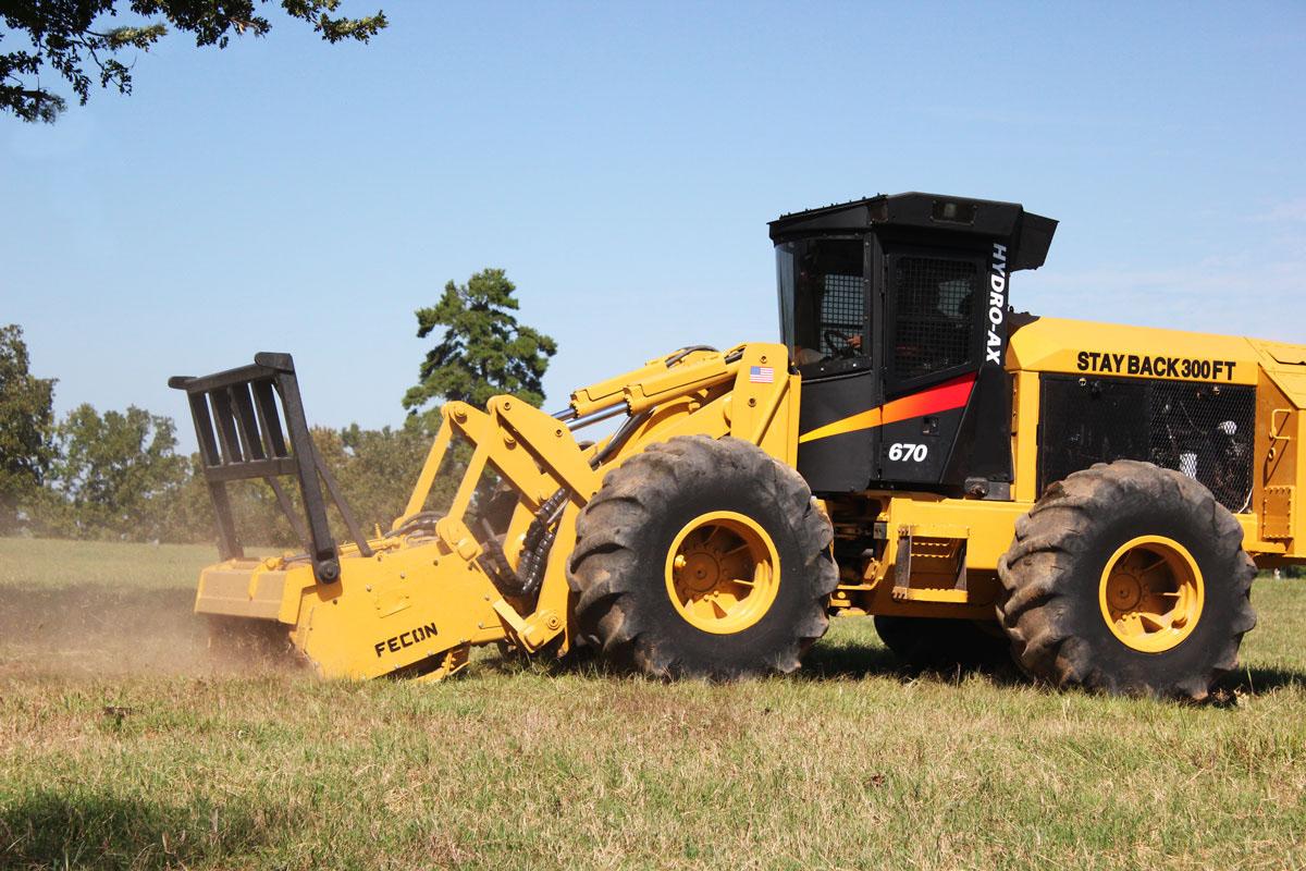 Hydro-Ax macchine forestali Hydro-Ax-Houston-Mulching
