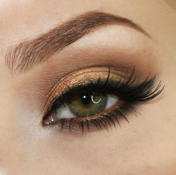 Bewaffneter Überfall auf Club in Istanbul Bronze-Gold-Braun-Augenschminke-unteren-Wimpernkranz-Kajalstift