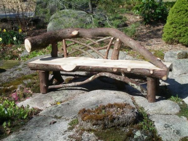 Deco intérieur bois Id%C3%A9e-originale-banc-de-jardin-arbre-design-original