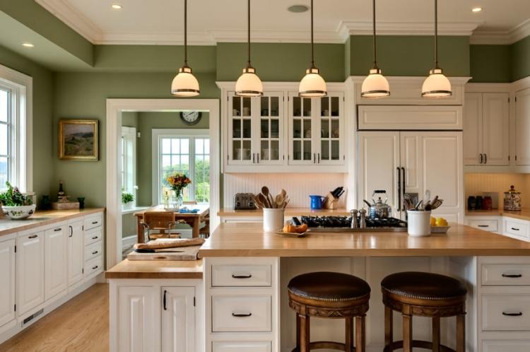 Nouvelle toulousaine - Page 2 R%C3%A9novation-cuisine-repeindre-murs-vert-olive-tendance