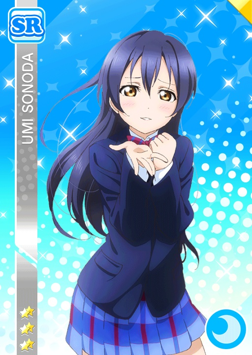 LOVE LIVE PROJECT (8 personnes) Umi_cool_sr447_t