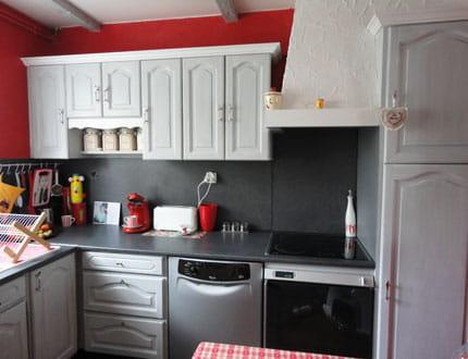 CUISINE Rustique relookée  Mobilier-simplement-repeint-cuisine-change-style-997931