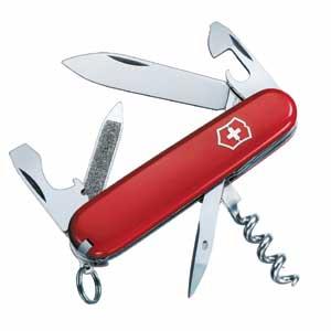 PCCFA (Papier, Caryon, Couteau, Ficelle, Allumette) Couteau-suisse