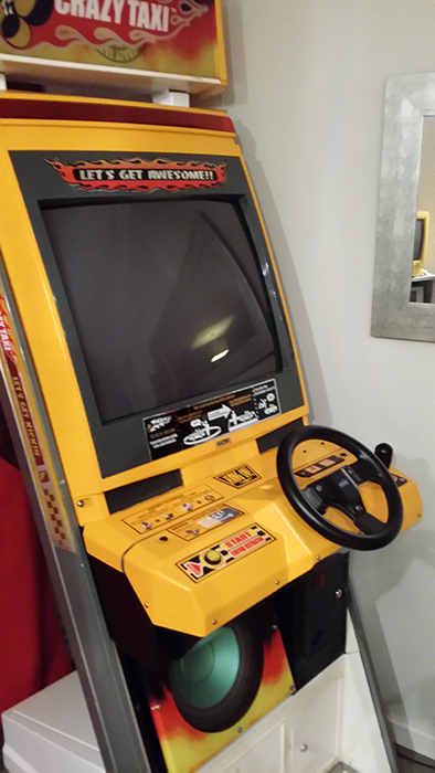 Borne Crazy Taxi upright 001