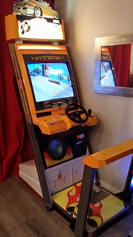 Borne Crazy Taxi upright 2