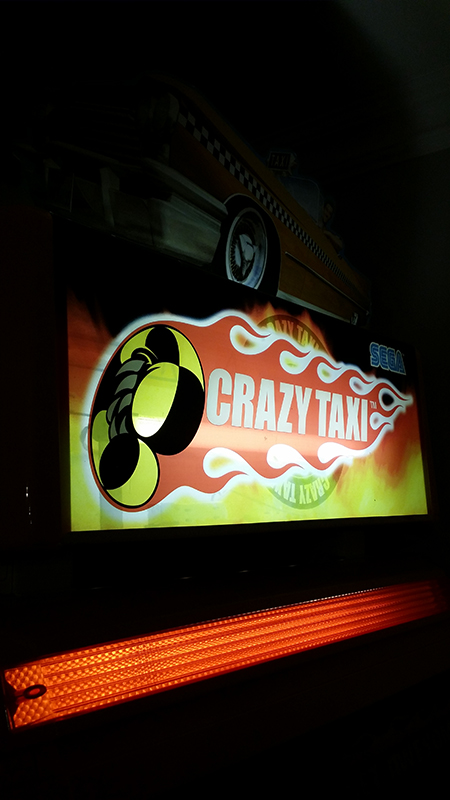 Borne Crazy Taxi upright 4