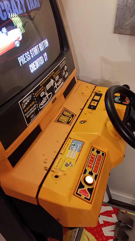 Borne Crazy Taxi upright 5