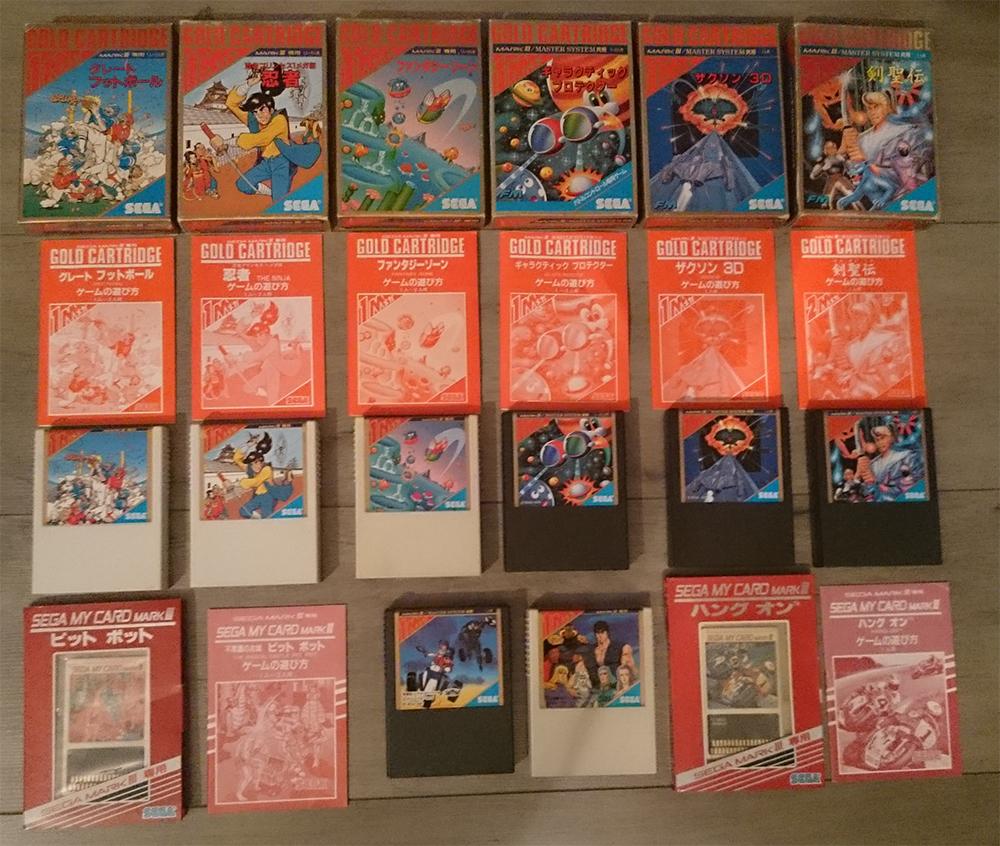 [RCH/VDS] 9 Jeux Sega mark 3 JSM31