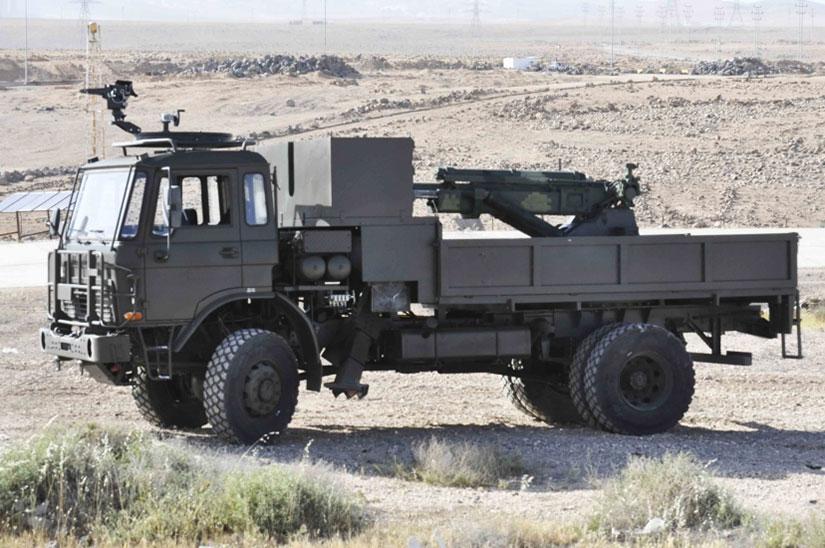 المدفع الهاوتزر عيار 105 ملم ذاتي الحركه من انتاج شركة KADDB الاردنيه  105mm2