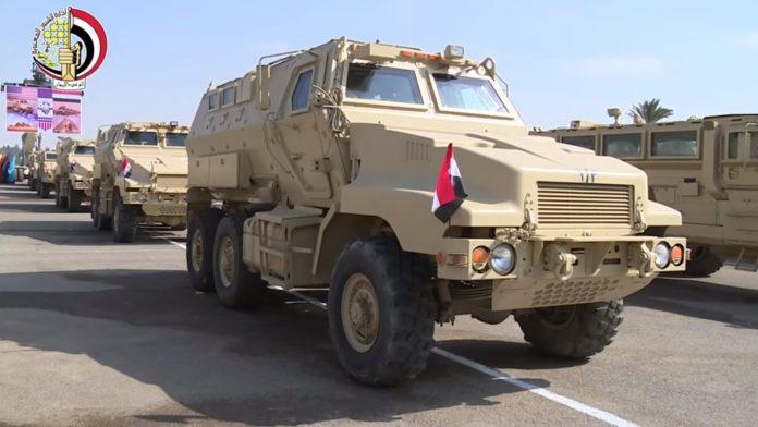 القوات المسلحة المصريه تتسلم عدد من ناقلات الجند المدرعة MRAP من الولايات المتحدة 14dae9304e8f19571c5f14-1-696x392