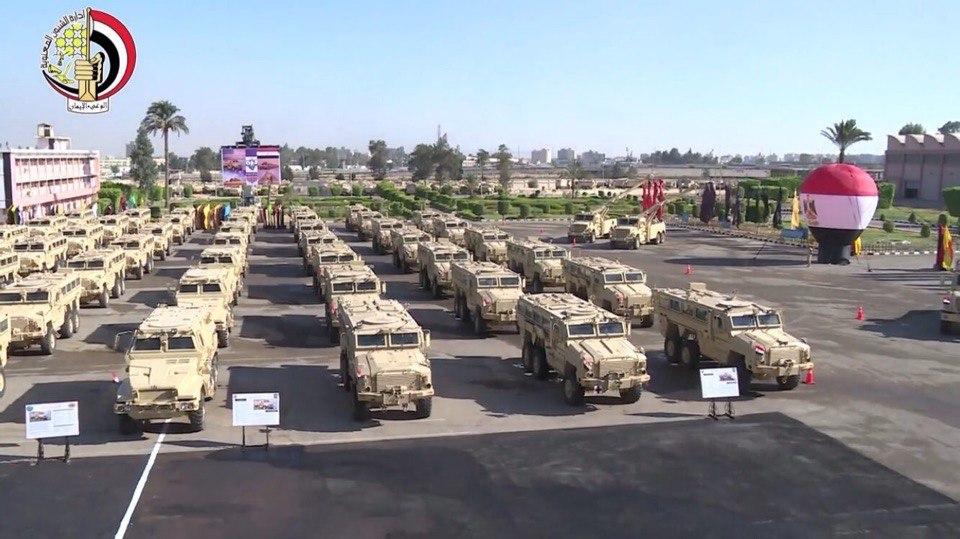 """القوات المسلحة المصرية تحصل علي المزيد من المركبات المدرعة المقاومة للالغام """" MRAP """" G9yUKXA9OCw"""