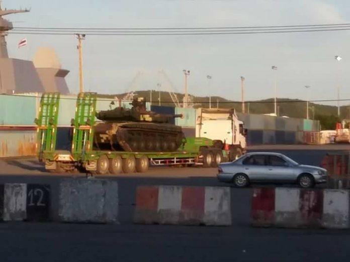 اوكرانيا تورد دفعه من دبابات T-84 Oplot-M الى تايلاند  14938304_732442916920197_8784616545080823238_n-696x522