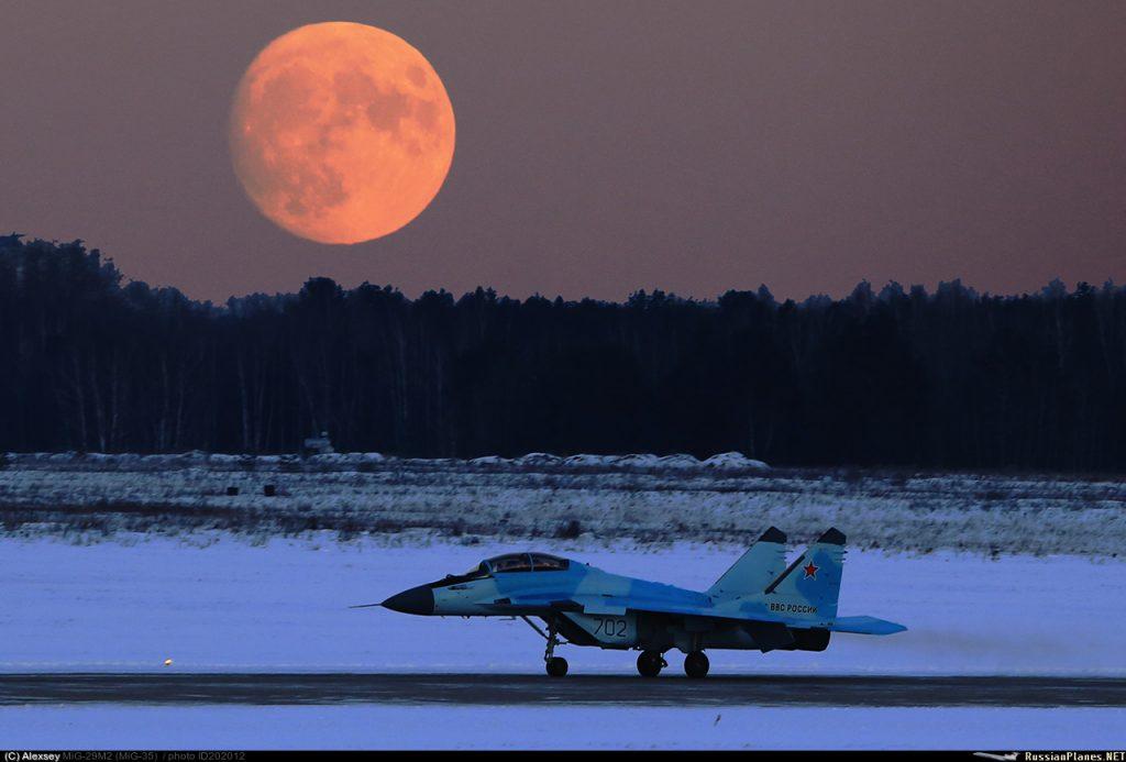 المقاتله الروسيه MiG-35  متعددة المهام  202012-1024x693