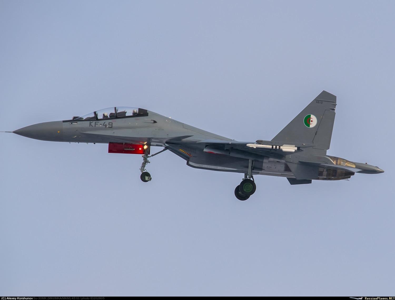 الجزائر يتسلم ثمانية مقاتلات (Su-30MKI(A   202805