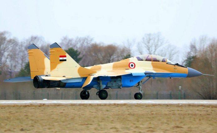 """روسيا ملتزمة بعقد بيع مقاتلات """"ميغ 29"""" إلى سلاح الجو المصري 1KLCPVdPTrg-696x429"""