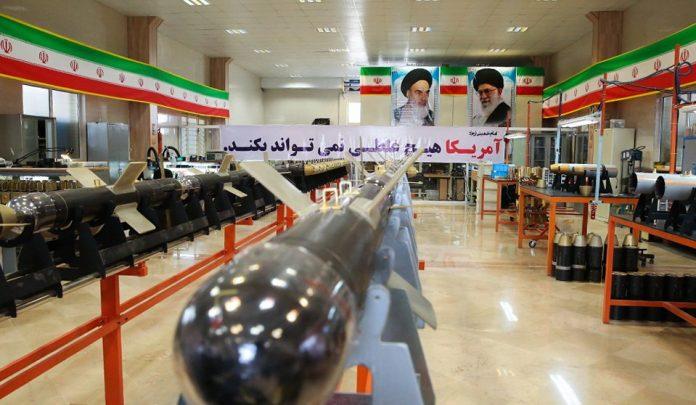 ايران تكشف عن خط انتاج قنابل Sadid-345 الذكيه  DDVSuLsXcAQdxDZ-696x405