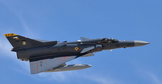 Argentina firma un contrato para la compra de 14 cazas IAI Kfir C.10 Nellis_kfir
