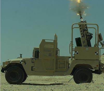 Sistema Elbit SPEAR de Mortero 120mm para vehiculos de combate Ligeros. SPEAR