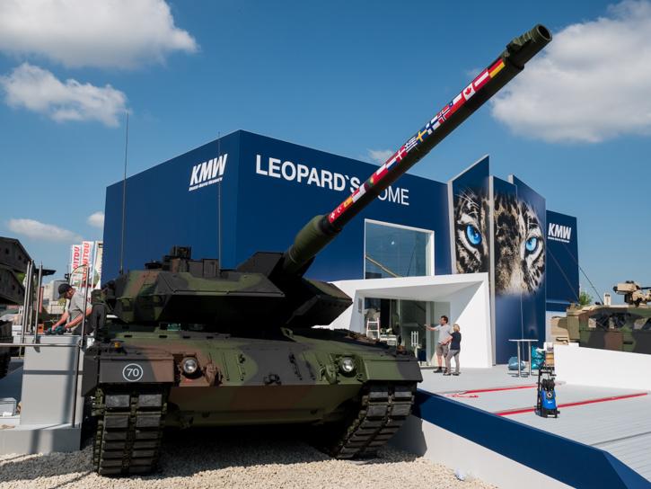 EUROSATORY 2014 (16 au 20 juin) - Page 2 Leopard2_international