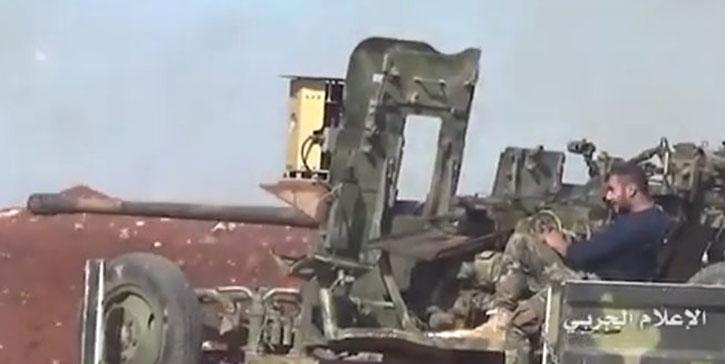 Revolucion en Siria. Sarab-1_85mm_gun_725