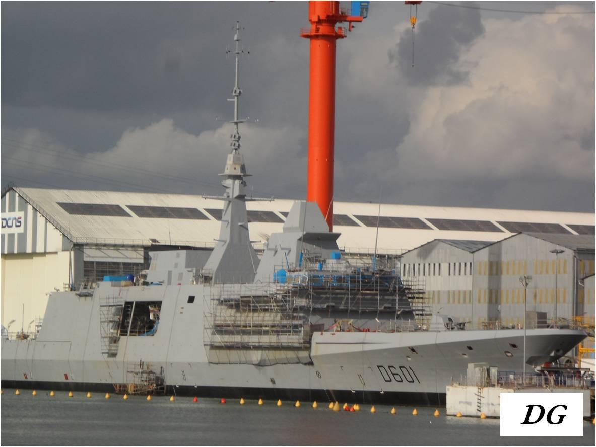 Royal Moroccan Navy FREMM Destroyer FREMM Marocaine - Mohammed VI Sam_1603b