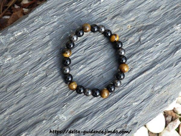 Bracelets pierres rondes  006655fa