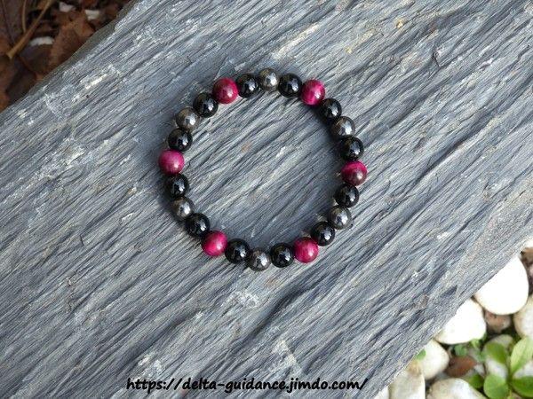 Bracelets pierres rondes  8b3b3a47