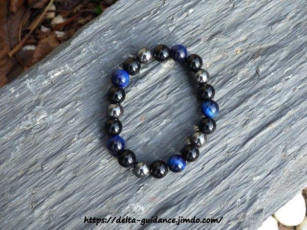 Bracelets pierres rondes  D04e0e9d
