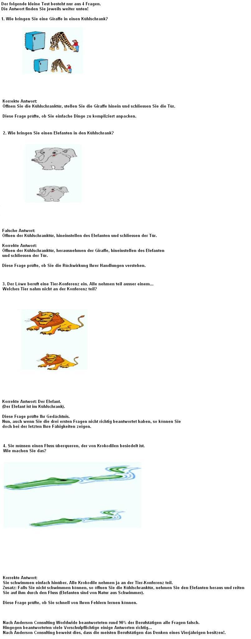 IQ-Test Bild